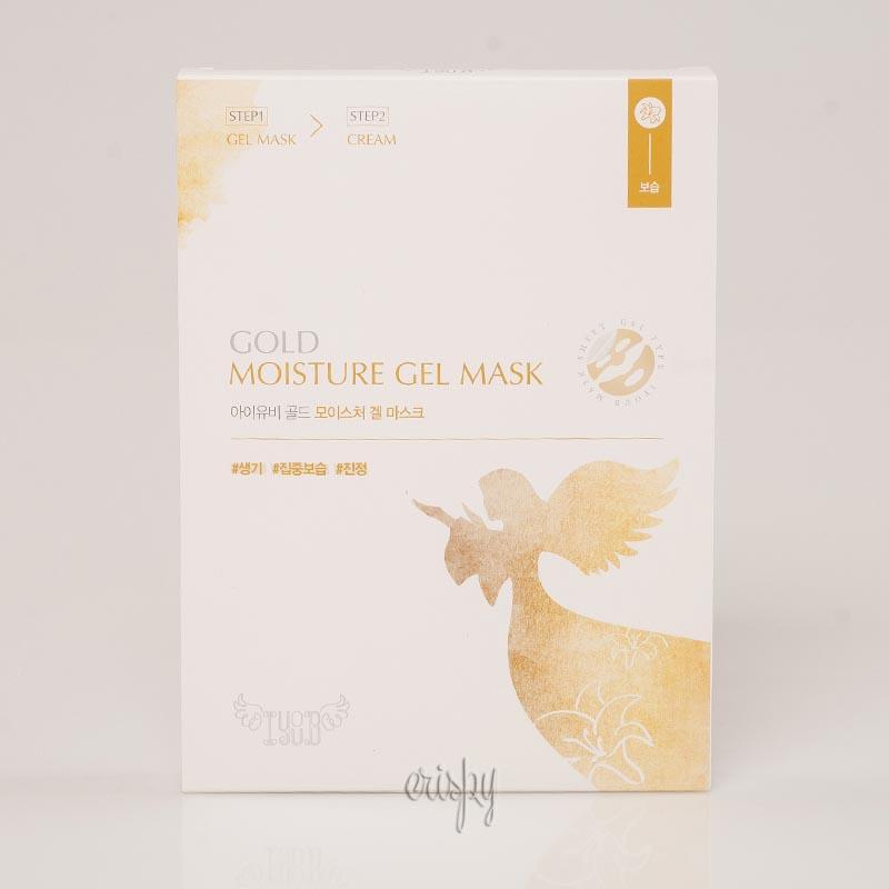 Двухшаговая маска увлажняющая кожу IYOUB Gold Moisture Gel Mask 18 г+3 г