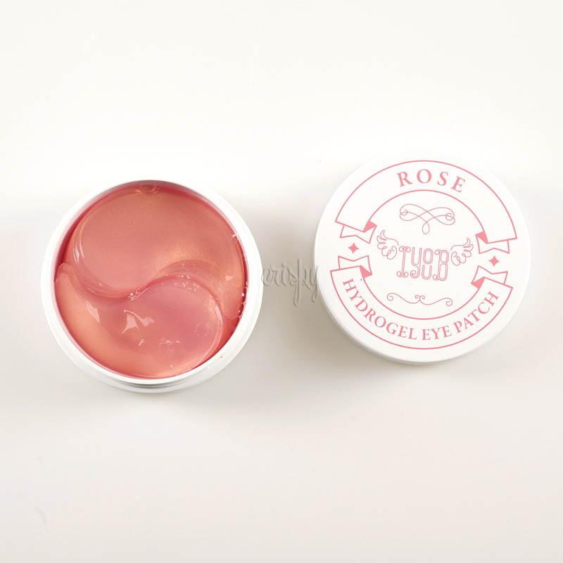 Гидрогелевые патчи с экстрактом розы IYOUB Hydrogel Eye Patch Rose - 60 шт.