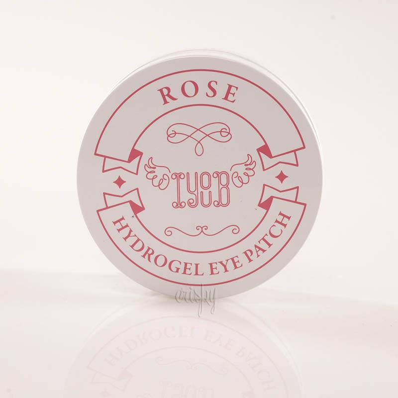 Гидрогелевые патчи с экстрактом розы IYOUB Hydrogel Eye Patch Rose - 60 шт. - Фото №2