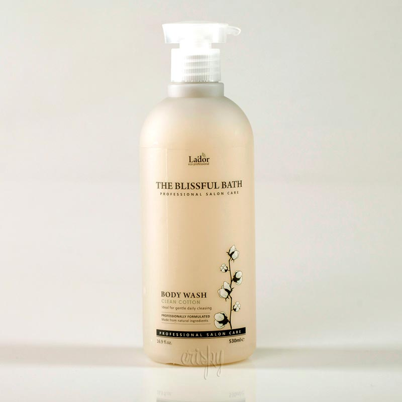 Гель для душа Lador The The blissful Bath Body Wash Clean Cotton - 530 мл - Фото №2