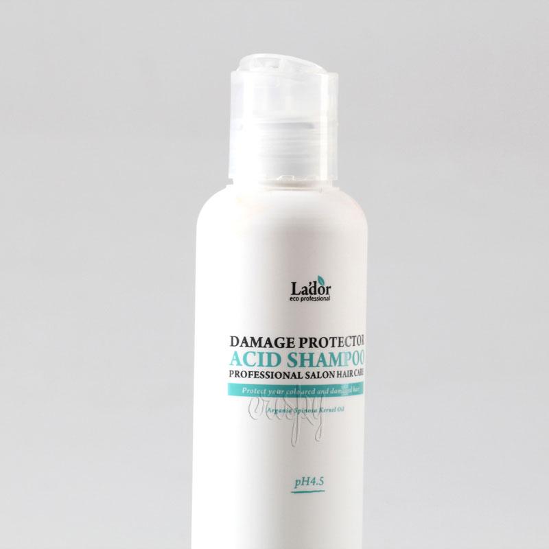 Шампунь для завитых и окрашенных волос с минимальным pH LADOR Damaged Protector Acid shampoo - 150 мл
