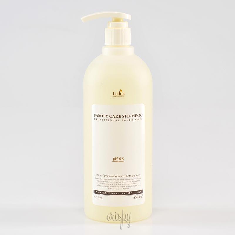 Шампунь «Семейный» Lador Family Care Shampoo - 900 мл - Фото №2