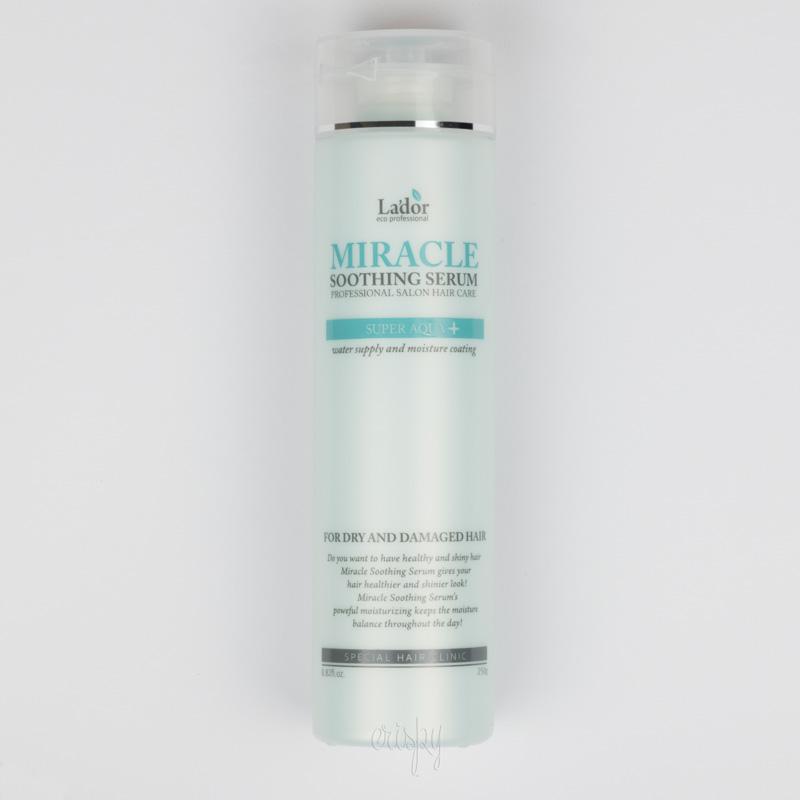Ультраувлажняющая сыворотка для волос LADOR Miracle Soothing Serum - 250 г