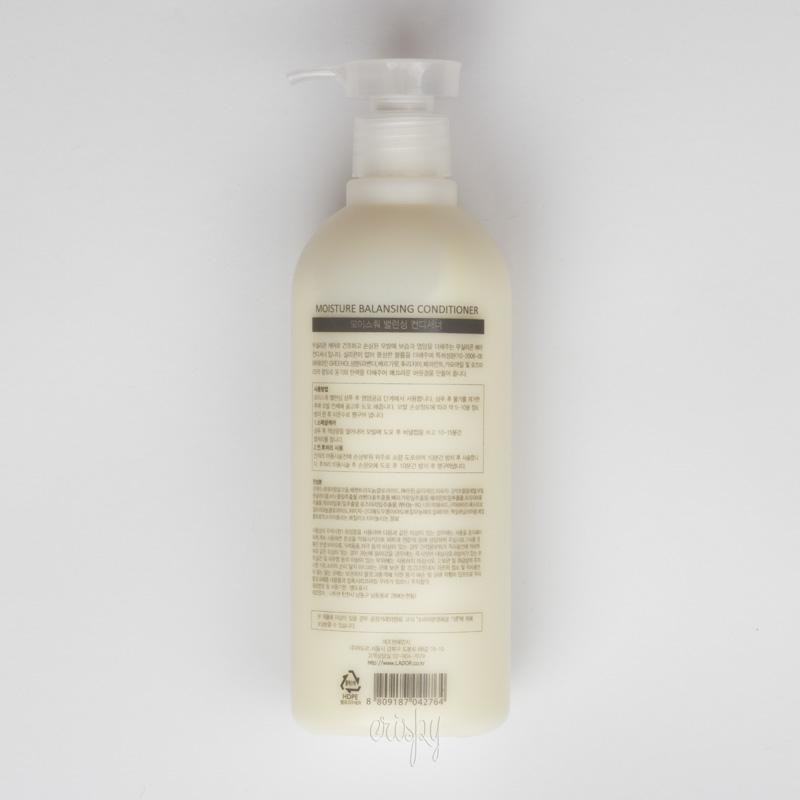 Увлажняющий кондиционер для волос Moisture Balansing Conditioner Lador - 530 мл