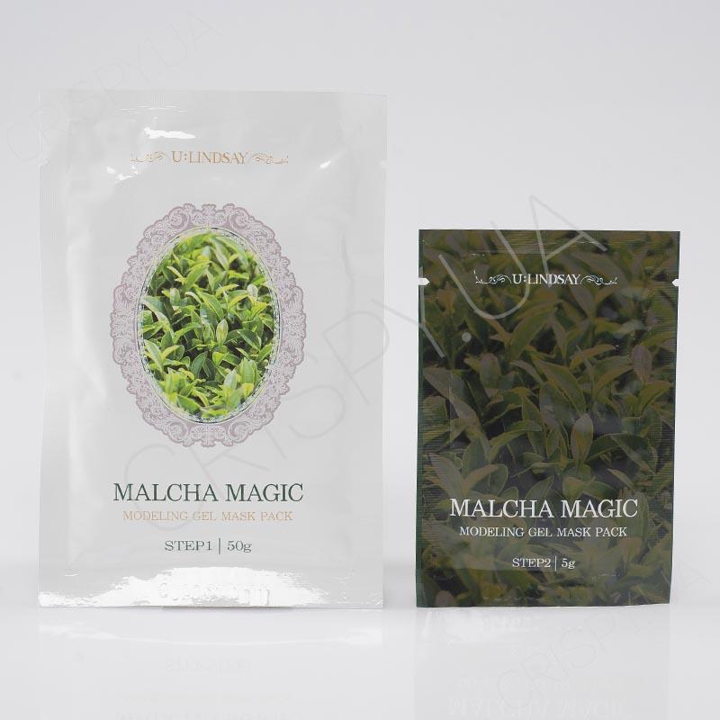 Альгинатная маска для раздраженной или проблемной кожи Lindsay Malcha Magic Modeling Gel Mask Pack - 50 г+5 г