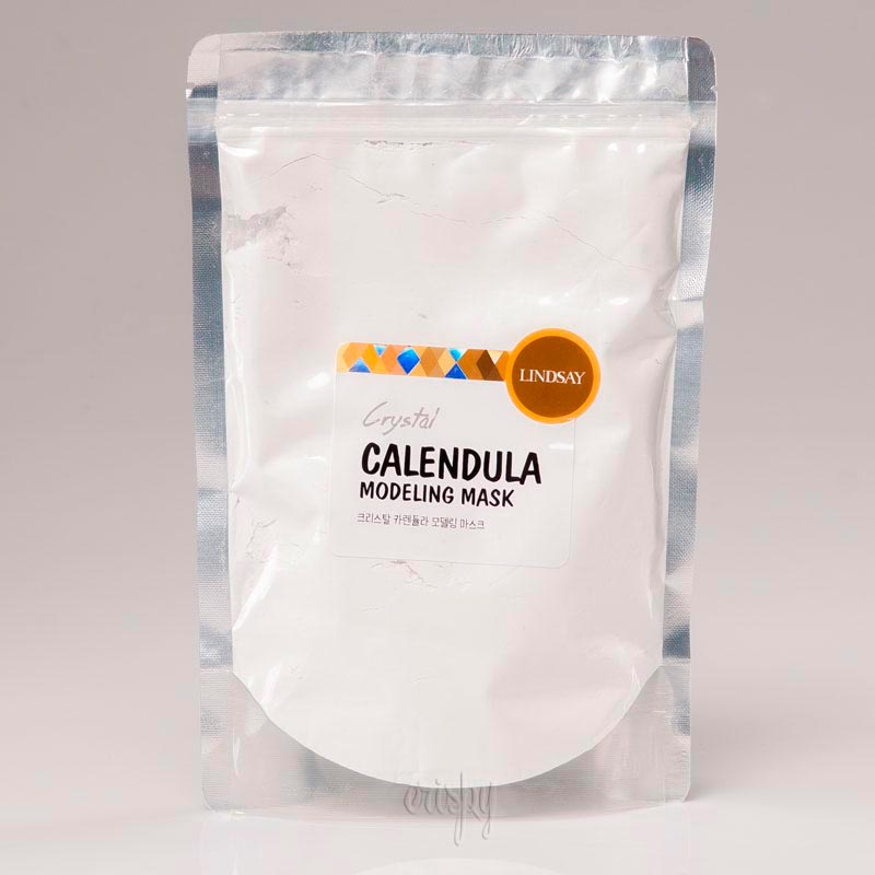 Альгинатная маска для лица с календулой Lindsay Premium Calendula Modeling Mask Pack - 240 г