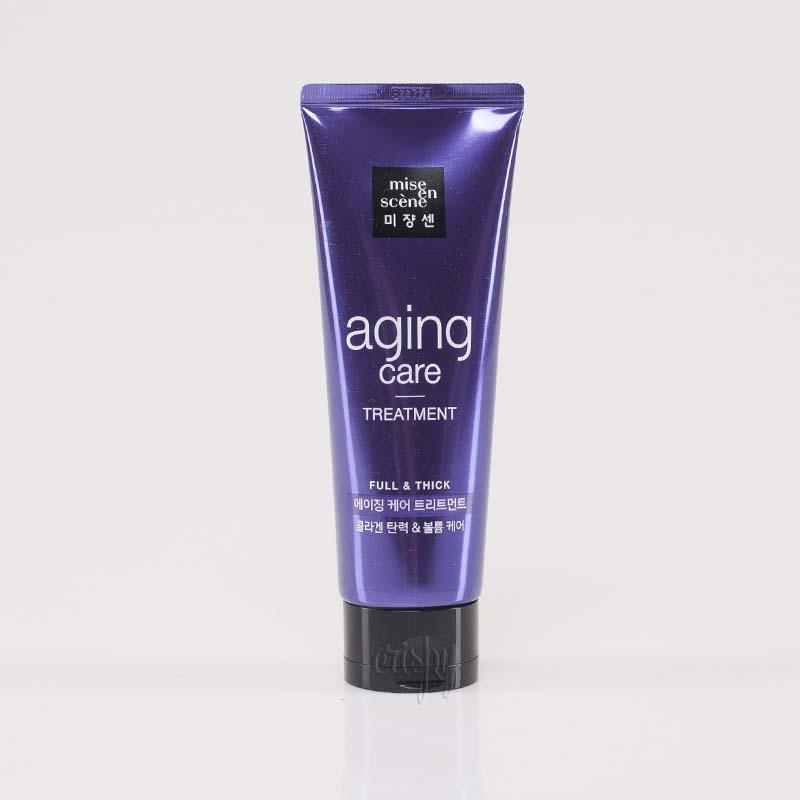 Маска для здоровья и блеска волос Mise en Scene Aging Care Treatment - 180 мл