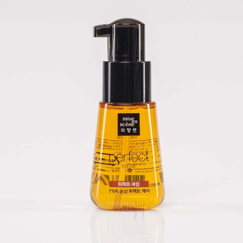 Сыворотка-масло для лечения волос Mise en Scene Perfect serum repair original - 70 мл - Фото №2