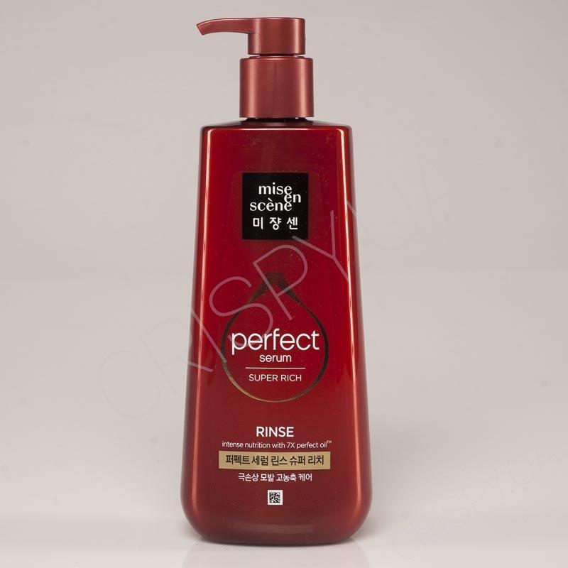 Кондиционер-маска для восстановления волос MISE EN SCENE Perfect Serum Super Rich Rinse - 680 мл