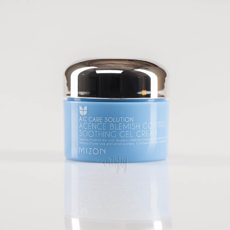 Гель-крем для проблемной кожи MIZON ACENCE BLEMISH CONTROL SOOTHING GEL CREAM - 50 мл - Фото №2