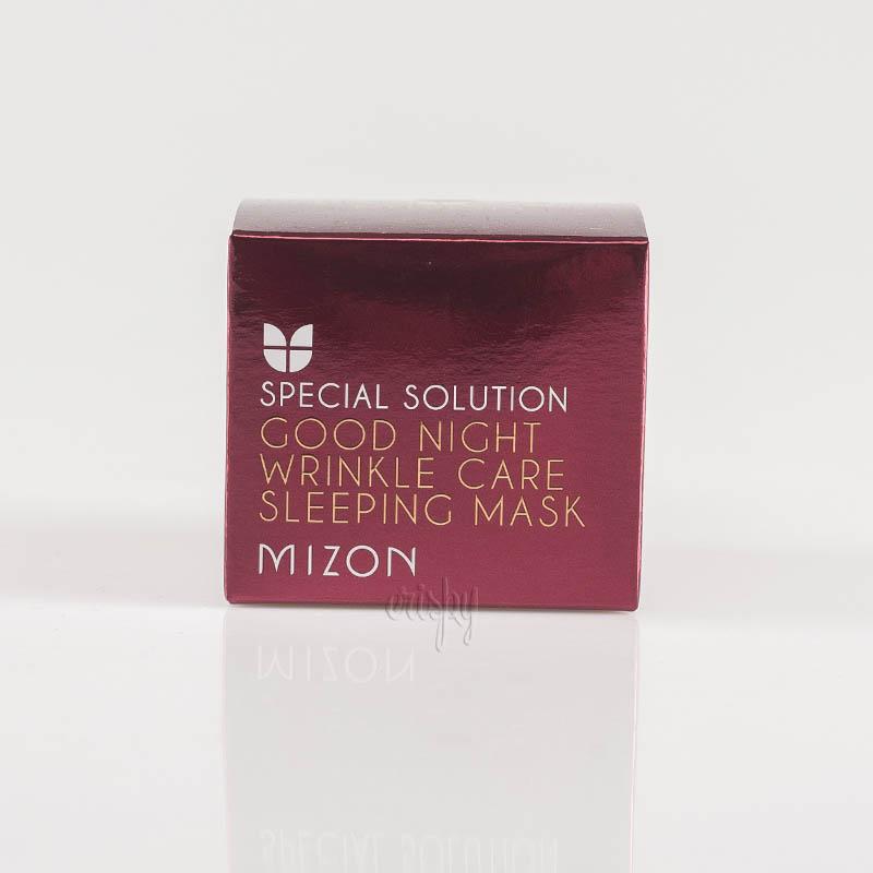 Ночная ретиноловая маска омолаживающая MIZON GOOD NIGHT WRINKLE CARE SLEEPING MASK - 75 мл