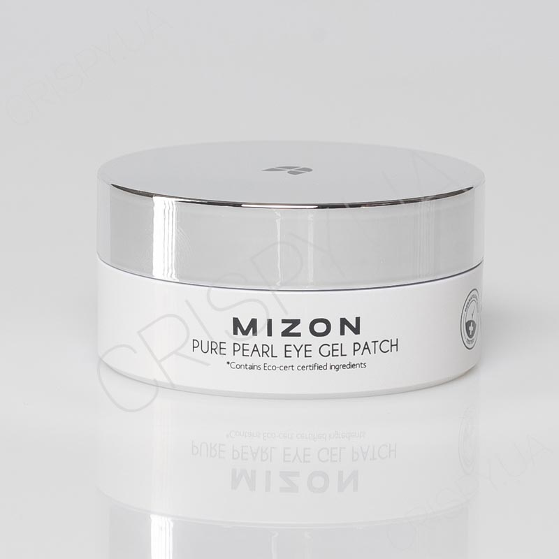 Патчи для глаз с жемчугом Mizon Pure Pearl Eye Gel Patch - 60 шт.