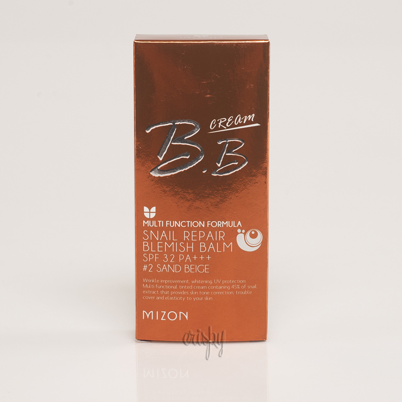 BB-крем с муцином улитки для идеальной кожи Mizon SNAIL REPAIR BLEMISH BALM - 50 мл