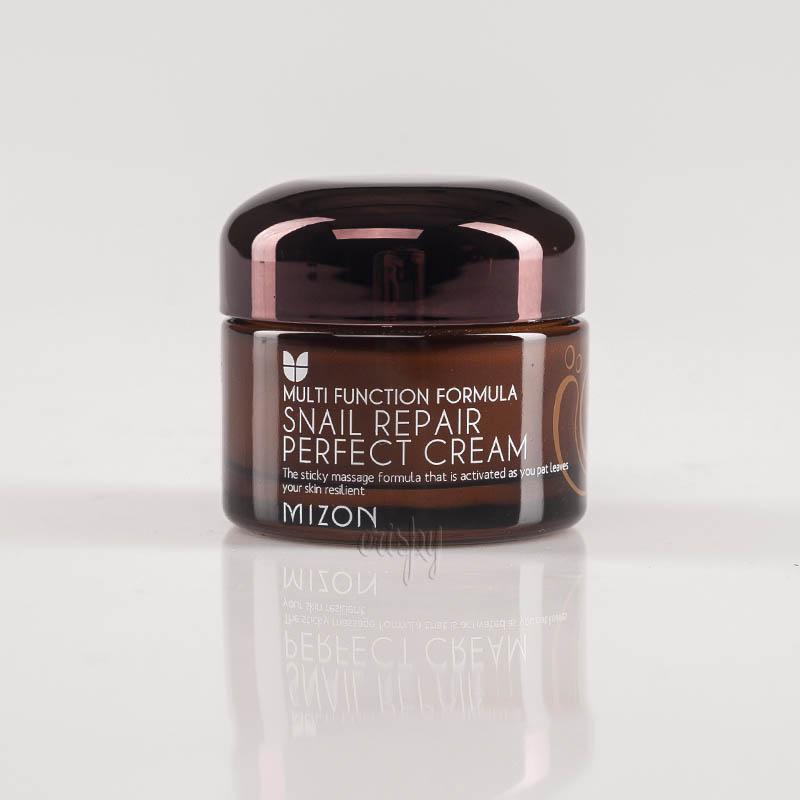 Крем для лица с улиточным фильтратом MIZON SNAIL REPAIR PERFECT CREAM - 50 мл - Фото №2