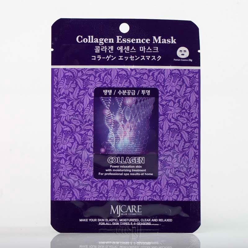 Омолаживающая маска для лица с коллагеном Mj Care collagen Essence Mask - 23 г