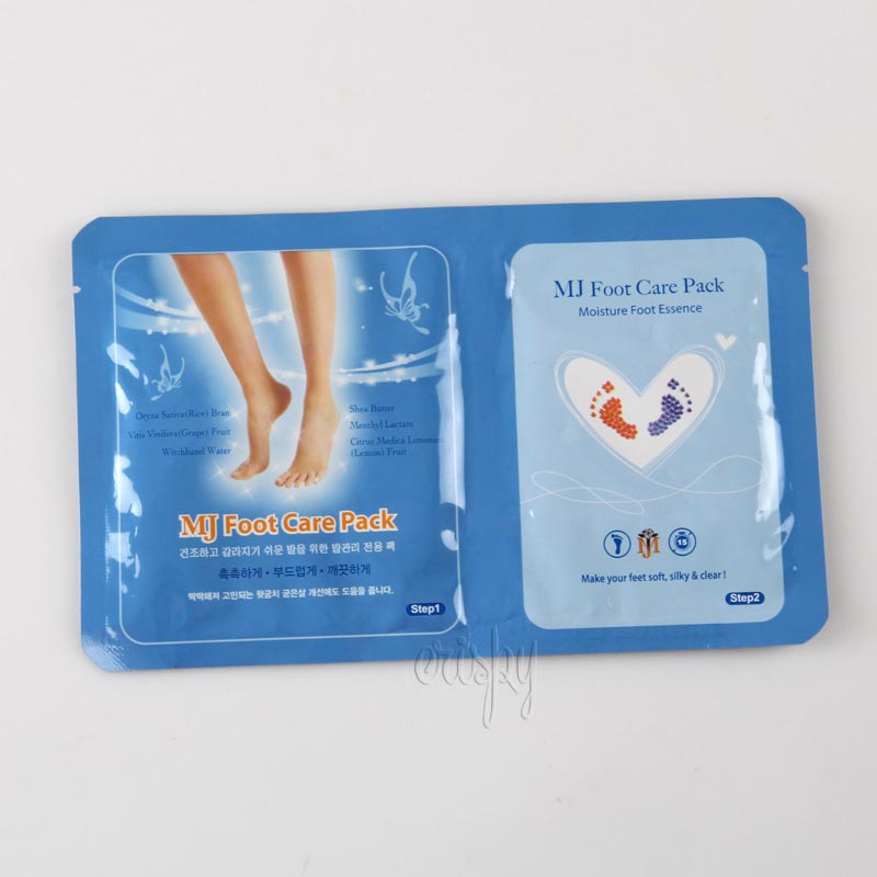 Маска-носочки для ног с гиалуроновой кислотой MJ Care Foot Care Pack - 22 г - Фото №2