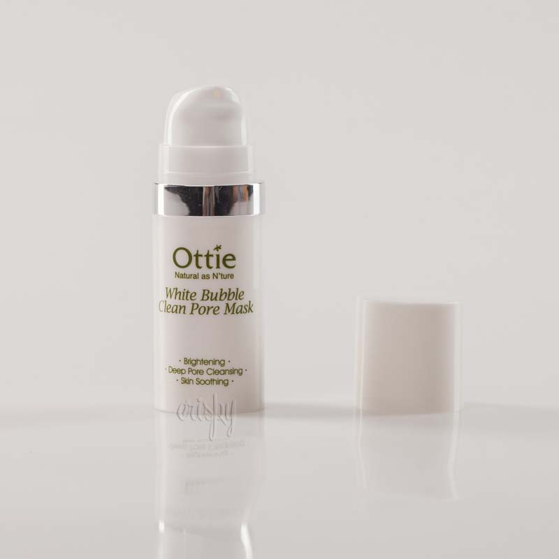 Мини-версия кислородной маски для очищения пор Ottie White Bubble Clean Pore Mask - 10 мл