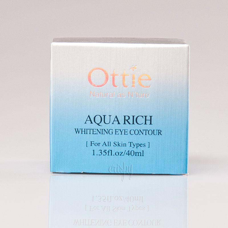 Крем для глаз с талыми водами Аляски Aqua Rich Whitening Eye Contour OTTIE - 40 мл