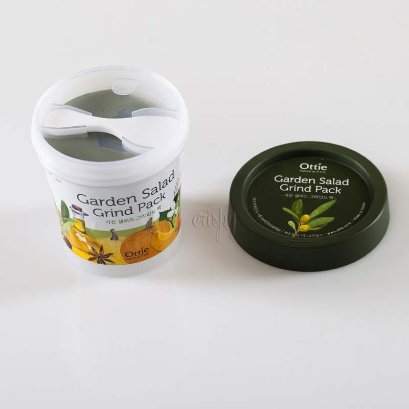 Каолиновая (белая глина) маска для лица с растительным комплексом Ottie Garden Salad Grind Pack - 100 мл