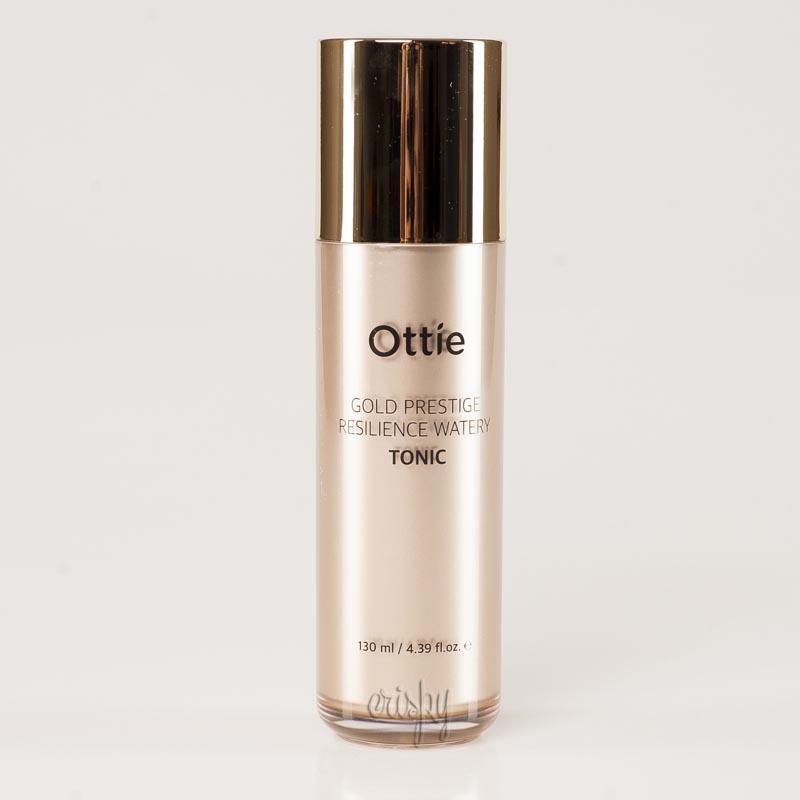 Увлажняющий тонер Ottie Gold Prestige Resilience Watery Tonic - 120 мл