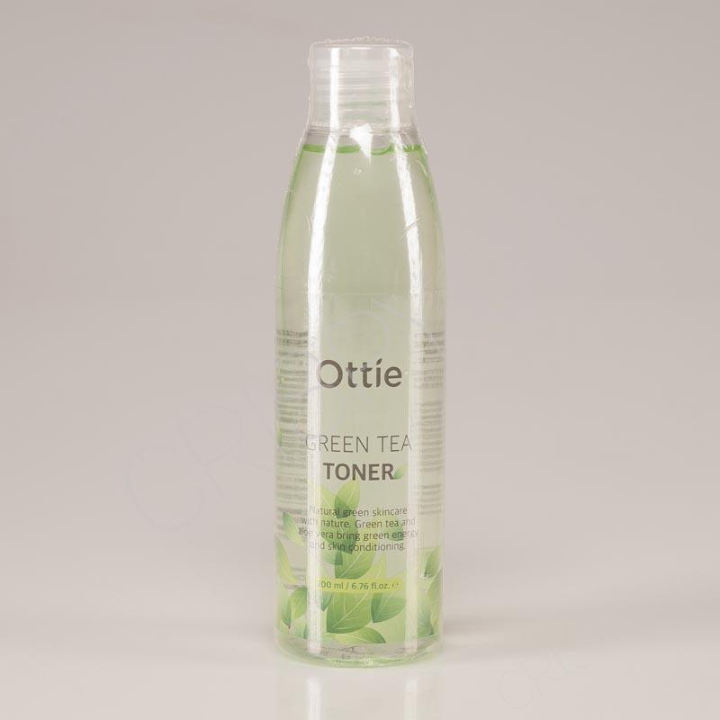 Тоник с экстрактом зеленого чая для проблемной кожи Green Tea Toner Ottie - 200 мл