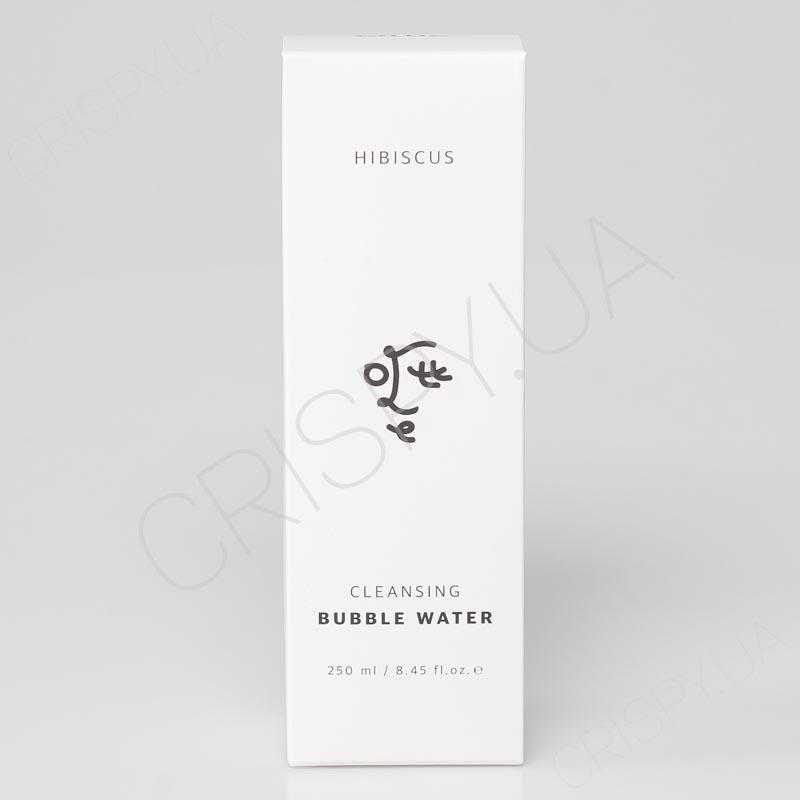 Очищающая вода для лица с гибискусом Ottie Hibiscus Cleansing Bubble Water - 250 мл