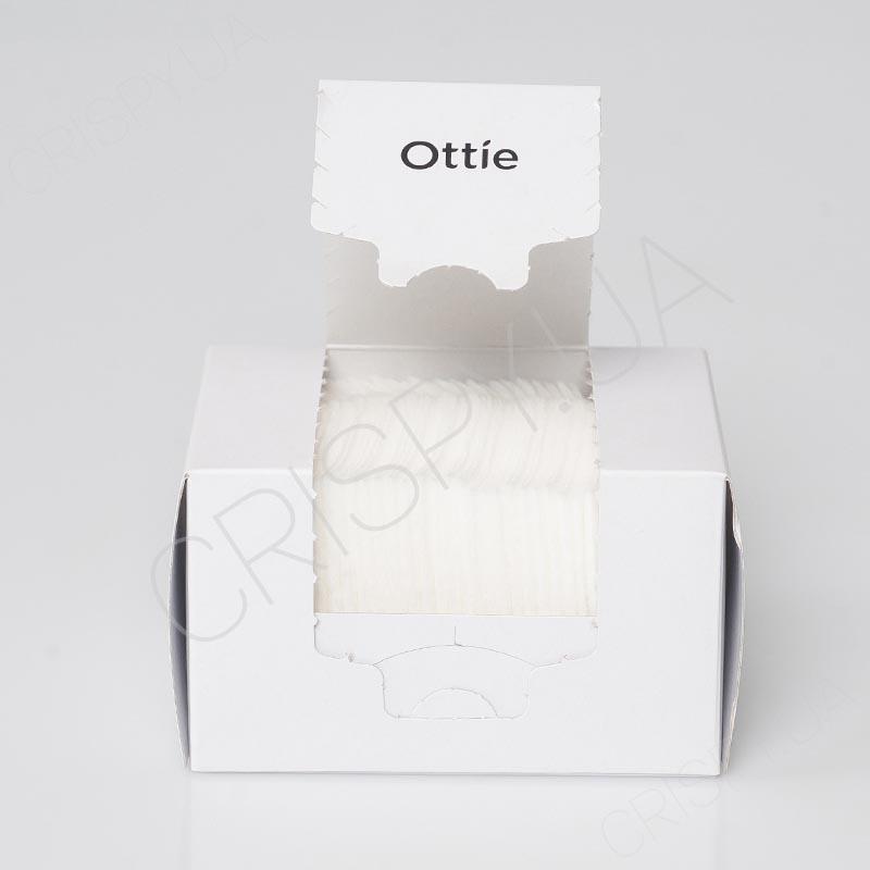 Салфетки для очищения кожи из натурального хлопка Ottie ½ Keeping Sponge Cotton - 40 шт.