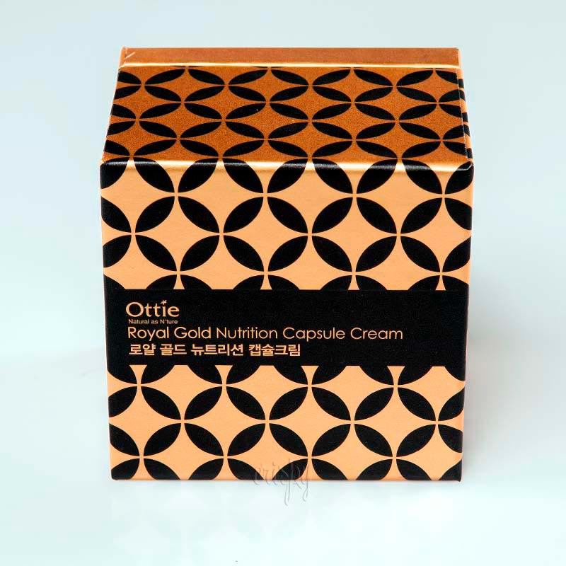 Отбеливающий антивозрастной крем Ottie Royal Gold Nutrition Capsule Cream - 50 мл
