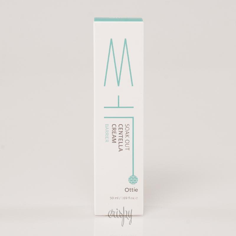 Крем для лечения проблемной кожи лица с центеллой Ottie Soak Out Centella Cream - 50 мл