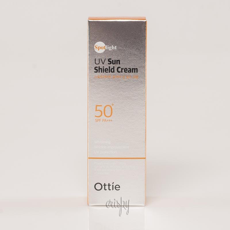 Солнцезащитный крем с максимальным фактором Ottie Spotlight UV Sun Shield Cream 50 SPF/PA++ - 40 мл