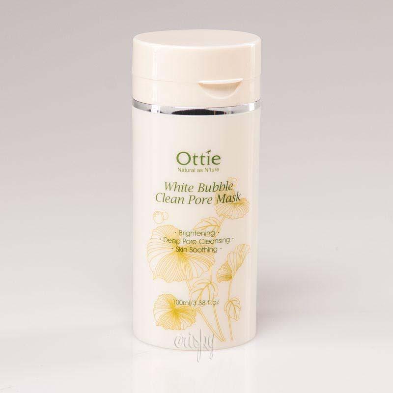 Кислородная маска для глубокого очищения пор Ottie White Bubble Clean Pore Mask 100 мл