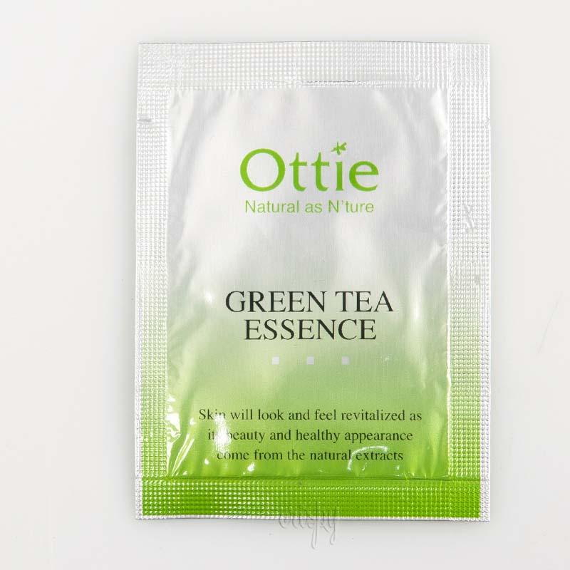 Пробник эссенции для лица с зеленым чаем Green Tea Essence Ottie - Фото №2