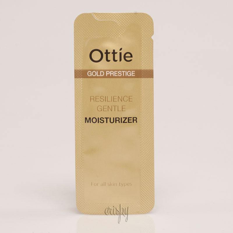 Пробник антивозрастной эмульсии для лица Ottie Gold Prestige Resilience Gentle Moisturizer - Фото №2