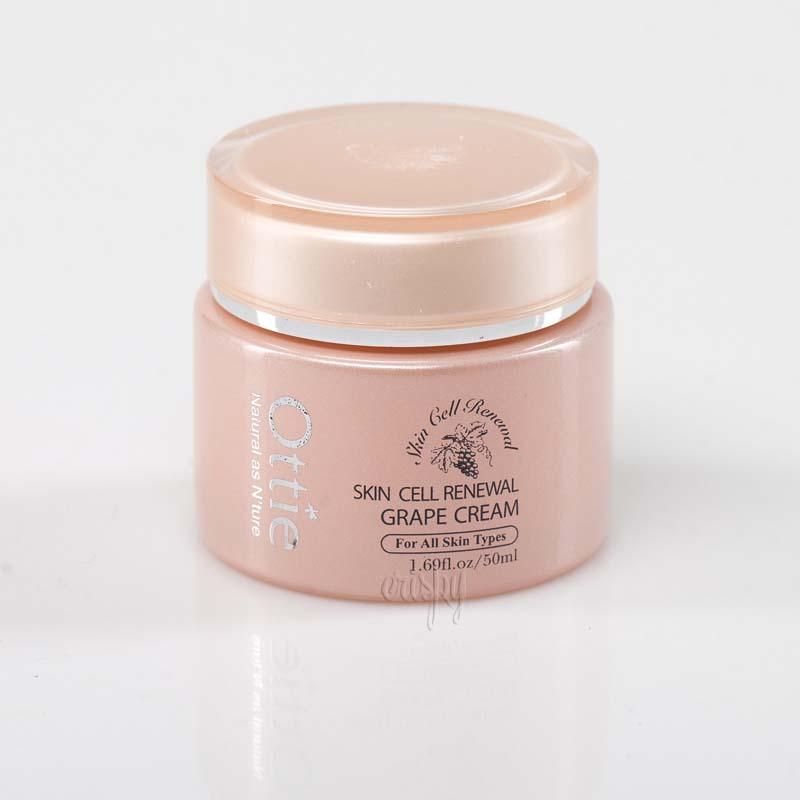 Крем для лица с красным вином Skin Cell Renewal Grape Cream Ottie - 50 мл - Фото №2
