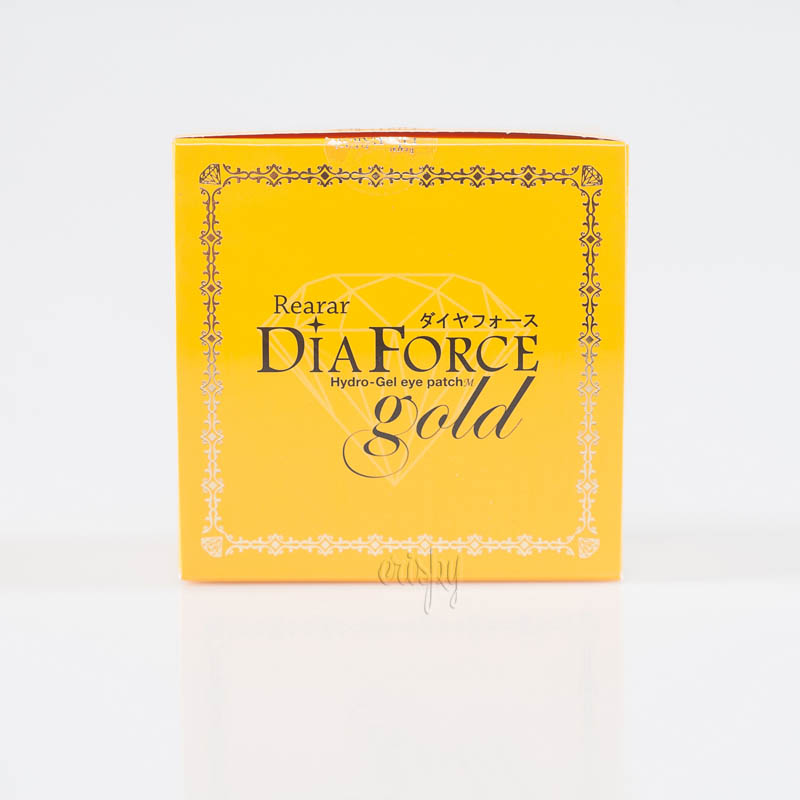 Гидрогелевые патчи с коллоидным золотом Rearar Dia Force Hydro-Gel Eye Patch M Gold - 60 шт.