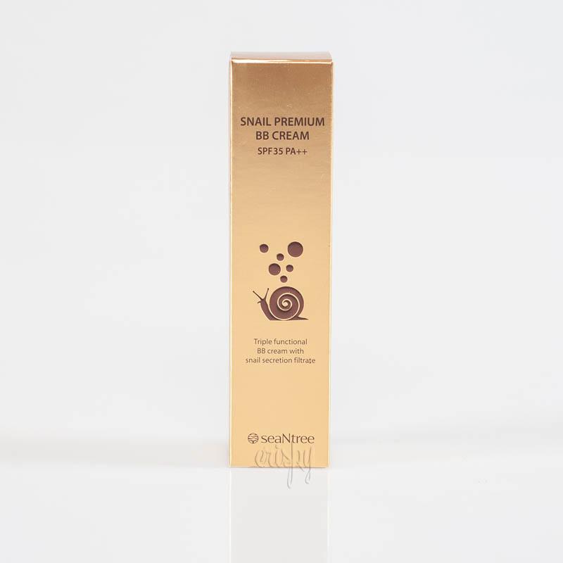 BB-крем на основе улиточной слизи SeaNtree Snail Premium BB cream SPF 35/PA++ - 50 г