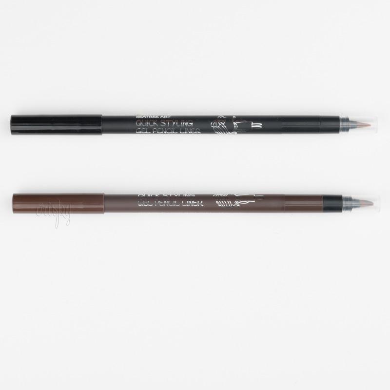 Гелевый лайнер для рисования стрелок с кисточкой Art Quick Styling Gel Pencil Liner SeaNtree - 0,4 г