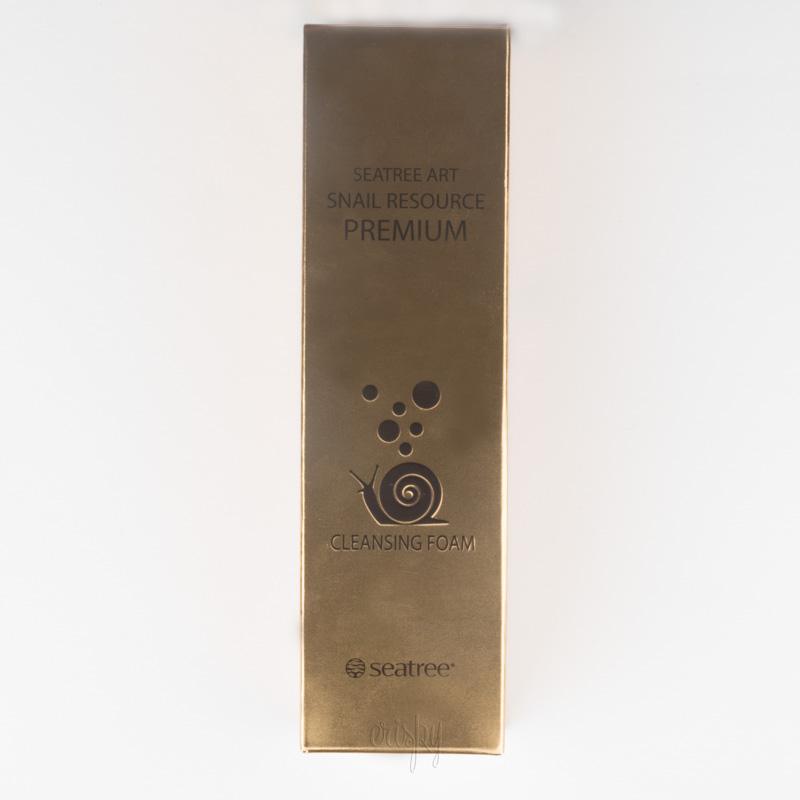 Премиум пенка для умывания с экстрактом слизи улитки Art Snail Resource Premium Cleansing Foam SeaNtree - 150 мл