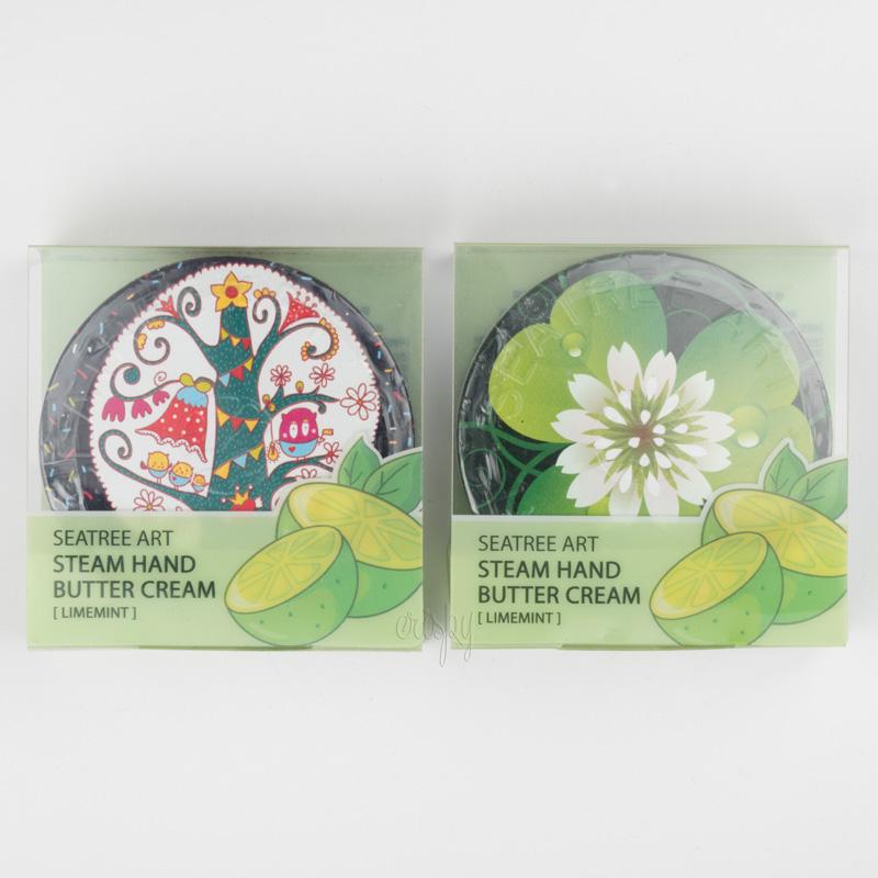 Паровой крем Art Steam Hand Butter Cream Limemint SeaNtree - 35 г