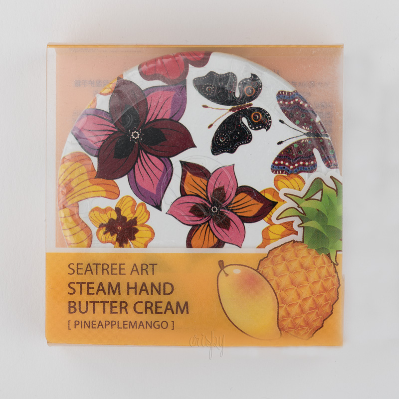 Паровой крем для рук с экстрактом  манго и маслом ши Art Steam Hand Butter Cream PINEAPPLE MANGO SeaNtree - 35 гр - Фото №2