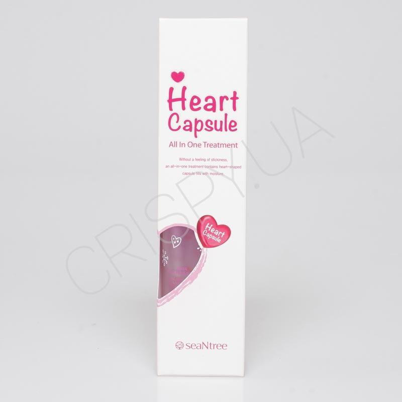 Средство 3в1 на основе 8 цветочных экстрактов Art HEART CAPSULE ALL IN ONE TREATMENT SeaNtree - 100 мл