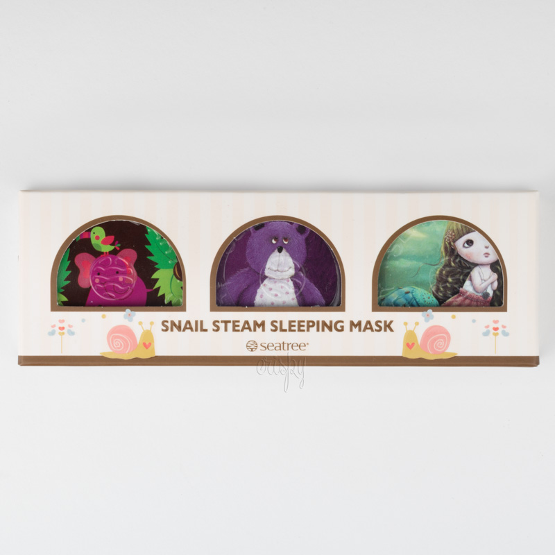 Ночная маска с муцином улитки и комплексом экстрактов Art Snail Steam Sleeping Pack SeaNtree - 35 г
