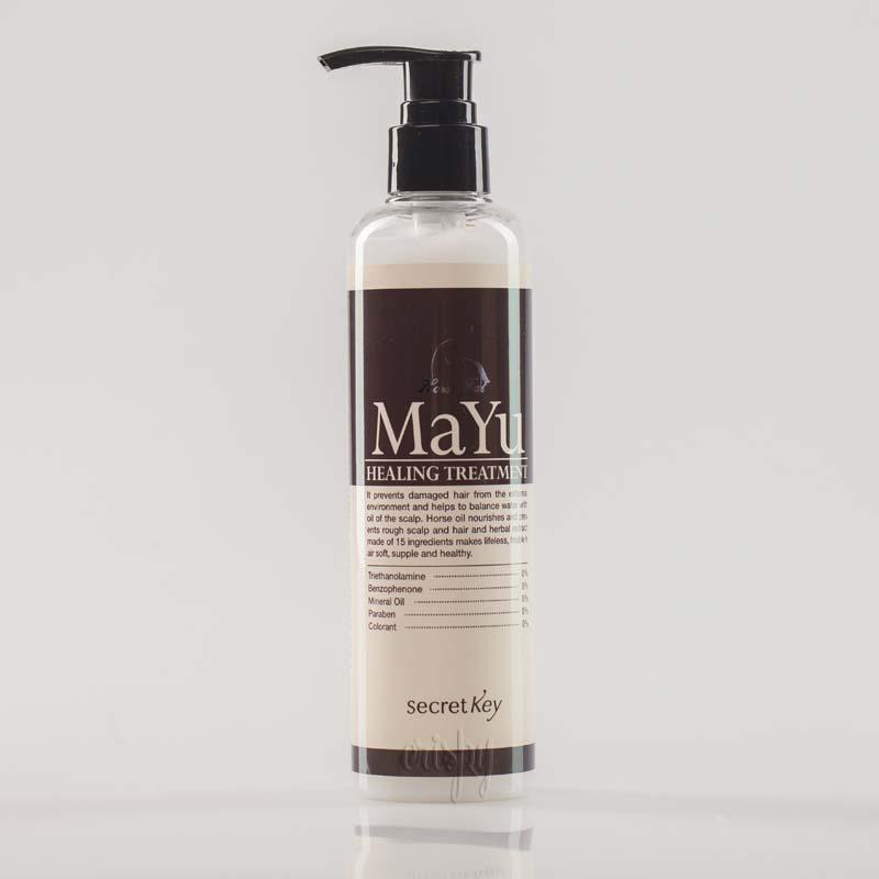 Бальзам для волос с конским жиром Secret Key MAYU Healing Treatment - 245 мл