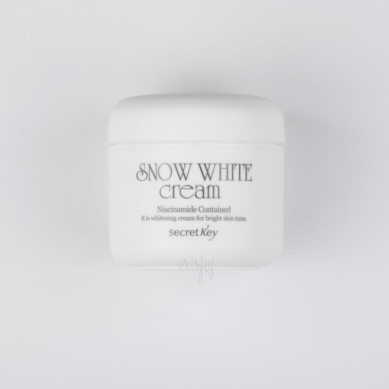 Крем на пептидах молока с отбеливающим эффектом Sеcret Key Snow white Cream - 50 мл - Фото №2