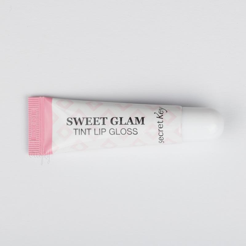 Блеск-тинт для губ Secret Key sweet glam tint lip gloss - 10 мл