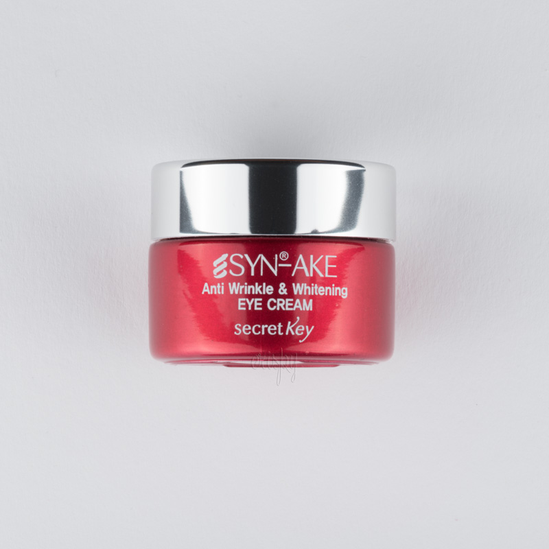 Крем от морщин для глаз Secret Key SYN-AKE Anti Wrinkle & Whitening Eye Cream - 15 г - Фото №2