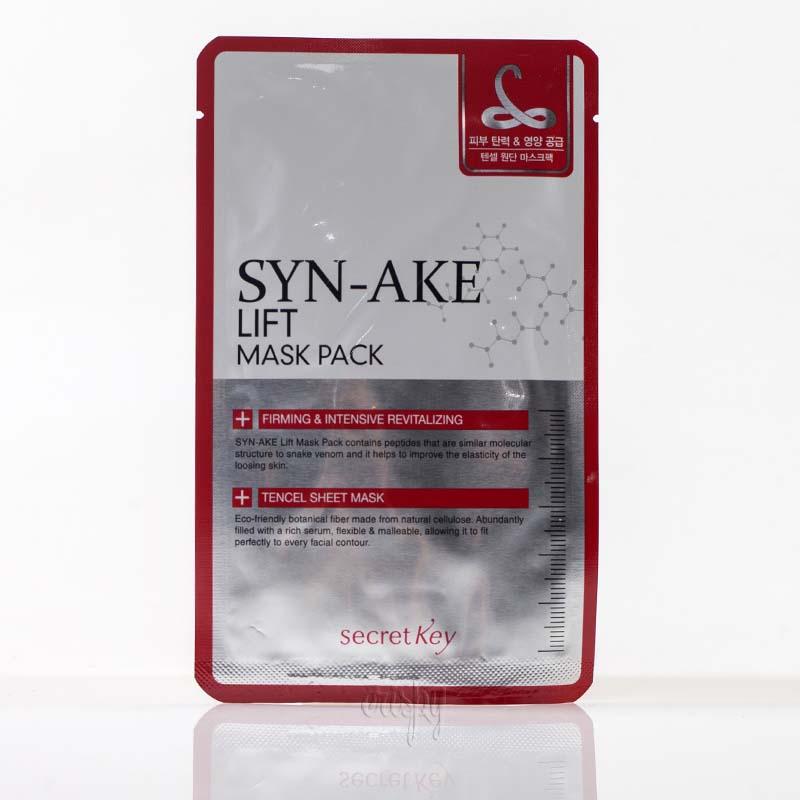 Маска от морщин с пептидами SYN-AKE тканевая Sеcret Key Wrinkle Mask Pack - 1 шт