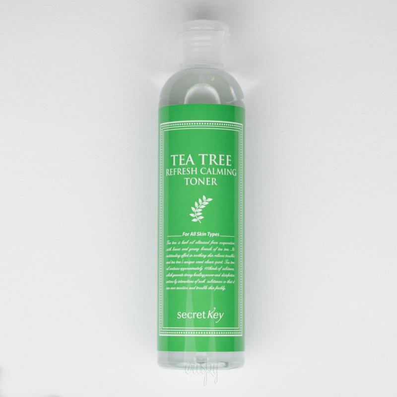Тонер с зеленым чаем успокаивающий Secret Key Tea Tree Refresh Calming Toner - 248 мл