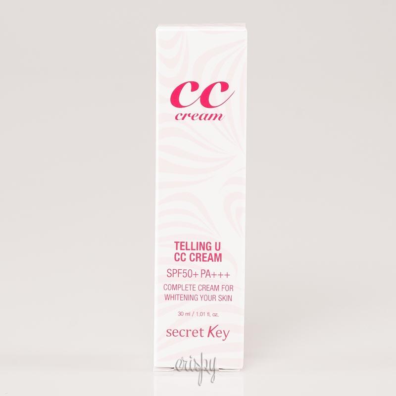 CC-крем Secret Key Telling U CC Cream SPF 50 PA +++ (30 мл)