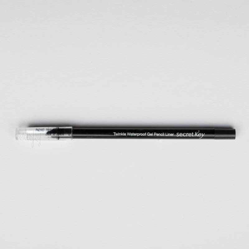 Водостойкий гелевый карандаш для глаз Secret Key Twinkle water proof gel pencil liner